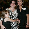 From left, Dalrene Hayes, director of the Boston Lobsters and her daughter, Melissa, along with Tracy Matarese, also with the Lobsters, attend the Boston Lobsters kick off for the 2010 season held at the Crowne Plaza Boston North Shore Friday evening. Photo bY Deborah Parker/April 16, 2010