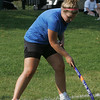 Marblehead field hockey player Casey Sheehan works on some stick drills during practice at Seaside Park in Marblehead Thursday afternoon .phoot by deborah parker/september 2, 2010