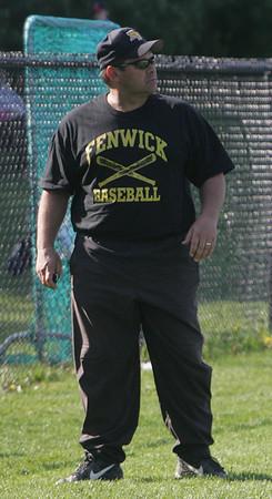 Bishop Fenwick baseball coach Russ Steeves. Photo by Deborah parker/may 5, 2010