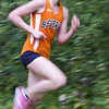 Beverly's Millie Chapman competes in yesterday's meet against Salem at J.C. Phillips Nature Preserve in Beverly . Photo by Deborah Parker/October 27, 2009