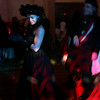 Randi Mandolare of New York dances with Jamie Mandolare during the Witches' Ball held at the Hawthorne Hotel Friday evening. Photo by Deborah Parker/October 30, 2009