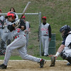 Salem's Jenssy Troncoso bats against Peabody during Monday afternoon's game held at Veterans Memorail High School. Photo by Deborah Parker/April 26, 2010