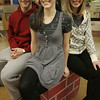 "Beverly : David Nathan Perlow, Addi McDaniel and Kate Rockwell, the leads of ""High School Musical 2"" playing at the North Shore Music Theatre. Photo by Deborah Parker/Salem News Friday, December 12, 2008"