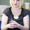 Stephanie Gallagher will be an ambassador for the North Shore Arthritis Walk on in Beverly on May 23. Stephanie, now 30, talks about how he was diagnosed with Juvenile Rheumatoid Arthritis at age 3 when she woke up one morning and couldn't walk. photo by deborah parker/may 11, 2010