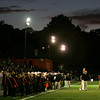 The Beverly Panthers played their first game under the lights at Hurd Stadium Thursday evening. Photo by Deborah Parker/September 17, 2009