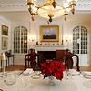 The dining room in the Phillips House. Photo by Deborah Parker/February 17, 2010