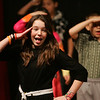 Lisa Robinson, who plays Rose Alverez performs a scene from Bye Bye Bye Birdie during dress rehearsal at Collins Middle School yesterday afternoon. The school will be putting on the play school is presenting on March 3, 4, and 5 at 7 p.m. in the Collins Auditorium. Photo by Deborah Parker/February 25, 2010