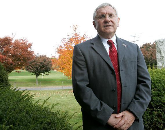 Peabody Mayor Michael J. Bonfanti . Photo by Deborah Parker/October 29, 2009
