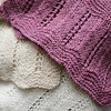 Ginny McGlynn, the longtime owner of Abbott Yarn Shop, has created a pattern for others to use from a scarf that her grandmother knit in the late 1800's. A story on her will be featured in Piecework Magazine next month. Photo by Deborah Parker/February 17, 2010