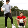 Masconomet boys soccer players Marshall Wade and Jason Katz are two transfers who may have a big impact at Masco. Photo by Deborah Parker/September 17, 2009