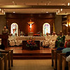 Cardinal Sean O'malley led a Jubliee Mass and blessing at the Saint Therese Carmelite Chapel at the North Shore Mall on Wednesday. The Chapel was celebrating it's recent renovation. Photo by Deborah Parker/July 28, 2010