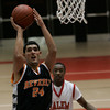 Salem: (*there was no roster*) Beverly's #24 looks to shoot on hoop during yesterday's game against Salem held at Salem High School. Photo by Deborah Parker/Salem News, Friday, January 2, 2008.