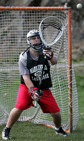 Marblehead's Matt O'Neil. Photo by Deborah Parker/April 5, 2010