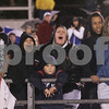 Salem: Rain soaked fans cheer on the Witches as they played Danvers last night at Betram Field for the their first game of the season. Photo by Deborah Parker/Salem News Friday, September 12, 2008