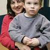 Jennifer Awrach of Peabdoy and her son, Matthew, 2, enjoyed some time together during gymnastics class held at the McVann O'Keefe ice rink in Peabody. PHoto by Deborah Parker/January 5, 2009