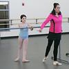 Evelyn Cisneros-Legate is the new principal of Boston Ballet School's Marblehead Studio at the Lynch/van Otterloo YMCA. Photo by Deborah Parker/February 12, 2010