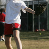 Salem's Sarah Chasse works on a drill during practice at Mack Park Friday afternoon. Photo by Deborah Parker/March 19, 2010