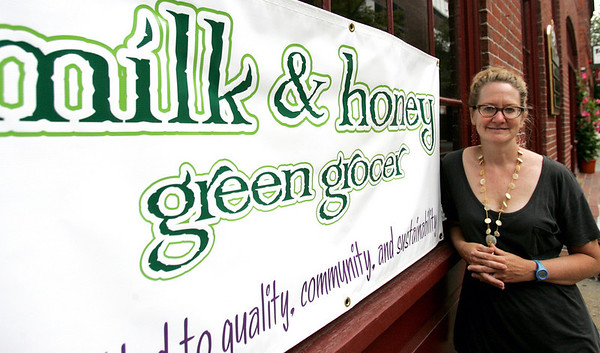 ____ will be opening a new green and organic grocery store on Church Street in Salem, called Milk and Honey. Photo by Deborah Parker/July 39, 2010