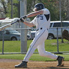 Danvers' Greg Little bats against Saugus during Thursday's game held at Danvers High School. Photo by Deborah Parker/April 15, 2010