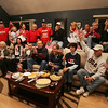 Close family friends of the Duggan family reaact while watching the Danvers' native Meghan Duggan on the big screen as she and the Women's USA hockey team competed against Canada for the gold in Vancouver.  Photo by Deborah Parker/February 25, 2010<br /> a, Close family friends of the Duggan family reaact while watching the Danvers' native Meghan Duggan on the big screen as she and the Women's USA hockey team competed against Canada for the gold in Vancouver.  Photo by Deborah Parker/February 25, 2010<br /> a