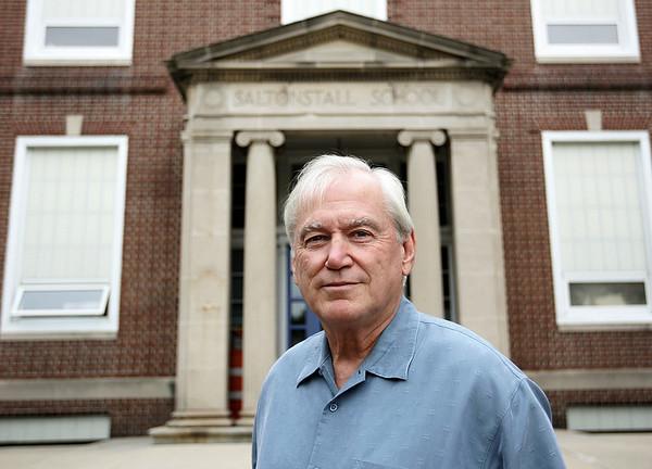 Robert Teel is the new interim principal at Saltonstall School. Photo by Deborah Parker/Septmeber 3, 2009