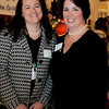 "Danvers: Chyllene McDonald and Maura McShane, co-chairs of St. John's Annual Auction pose together while attending the event held at the Danversport Yacht Club. This year's auction, ""See Us Shine 2009"" helps to raise money for the school. Photo by Deborah Parker/Salem News Friday, March 27, 2009."