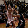 Chelsea: Bishop Fenwick's Nolan DiPanfilo goes for a lay up during last night's Division 3 North semifinals game against Wilmington at Chelsea High School. Photo by Deborah Parker/Salem News Thursday, March 5, 2009.