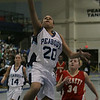 Peabody's Janelle Rodriguez performs a lay up during last night's Division 1 North first round girls basketball playoff game held at Peabody Veterans Memorial High School. Photo by Deborah Parker/February 22, 2010