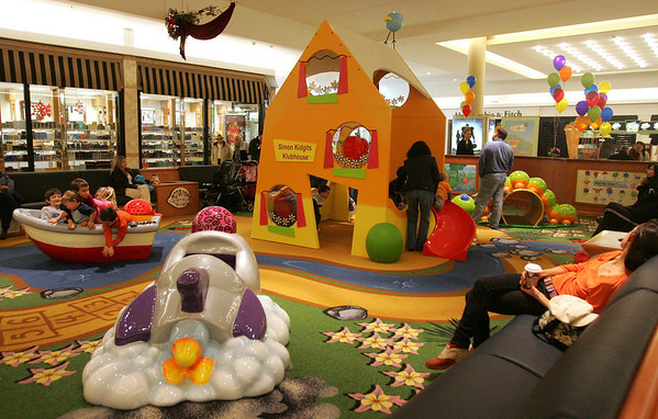 The new Children's Area in front of the Macy's Men's and Furniture wing at the North Shore Mall had a grand opening Saturday. Photo by Deborah Parker/November 14, 2009