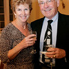 Salem: Janet and Stanley Burba of Salem pose together while at the Salem Rotary auction to benefit the scholarship fund held at Hamilton Hall Friday. Photo by Deborah Parker/Salem News Friday March 6, 2009.