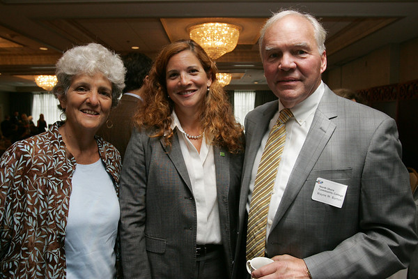From, left, Diana Kerry of North Shore Community College, Rosalin Acosta of TD Wealth Management and Chair of the North Shore Chamber of Commerce and Wayne Burton of North Shore Community College, attend the Economic Impact of Energy and Agriculture on the North Shore Public Policy Breakfast forum, sponsored by the North Shore Chamber of Commerce, held at the Salem Waterfront Hotel in Salem Wednesday morning. Photo by Deborah Parker/Juy 14, 2010<br /> s).<br /> , From, left, Diana Kerry of North Shore Community College, Rosalin Acosta of TD Wealth Management and Chair of the North Shore Chamber of Commerce and Wayne Burton of North Shore Community College, attend the Economic Impact of Energy and Agriculture on the North Shore Public Policy Breakfast forum, sponsored by the North Shore Chamber of Commerce, held at the Salem Waterfront Hotel in Salem Wednesday morning. Photo by Deborah Parker/Juy 14, 2010<br /> s).