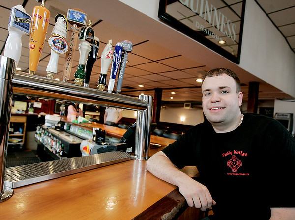 Peabody: Adam Drohan, the new owner of Paddy Kelly's on Washington. Photo by Deborah Parker/Salem News Wednesday March 18, 2009.