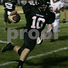 Marblehead: Marblehead's Hayes Richardson makes his way down the field during last night's first season game against Ipswich held at Marblehead High School. <br /> Photo by Deborah Parker/Salem News Friday, September 12, 2008