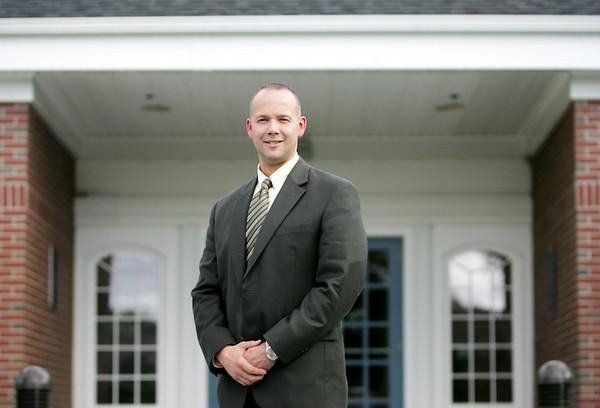 New Hamilton Police Chief Russell Stevens. Photo by Deborah Parker/September 16, 2009