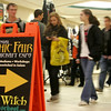 Pedestrians stay dry by walking through the Museum Place Mall in Salem during heavy rain Wednesday afternoon. Photo by Deborah Parker/October 28, 2009