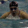 Peabody: Marblehead's Katherine Foley competes in the 200 meter medley against Peabody during Thursday's meet at the Peabody YMCA. Photo by Deborah Parker/Salem News Thursday, December 18, 2008.