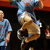 Salem: Wayland Perez goes for a lay up while competeing in a basketball tournament co- sponsored by the Gang Resistance Education and Trainging, (G.R.E.A.T) and Boys & Girls Club of Greater Salem held at Salem State College. All Saturday morning four courts were filled with kids competing to win the tournament. Photo by Deborah Parker/Salem News Saturday, March 21, 2009.