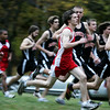 The Salem and Beverly's boys cross country teams compete in yesterday's meet held at J.C. Phillips Nature Preserve in Beverly . Photo by Deborah Parker/October 27, 2009