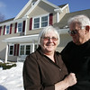 "In Peabody, Family Accessory Living Areas, so-called ""in-law apartments,"" are becoming more and more popular. Thomas Rossignoll built an apartment for his mother and father-in-law, Carol and Mike Donlon, pictured. The addition is just about complete. Here is what the house looked like before the addition. photo by deborah parker/february 19, 2010"