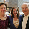 Donna Seger stands in between Jan and Bob Kendall, all of Salem during the annual meeting held at the National Park Service Visitor Center in Salem Thursday evening. Photo by Deborah Parker/May 7, 2010