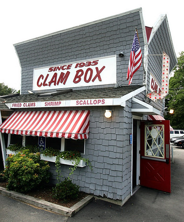 The Clambox. Photo by Deborah Parker/July 12, 2010