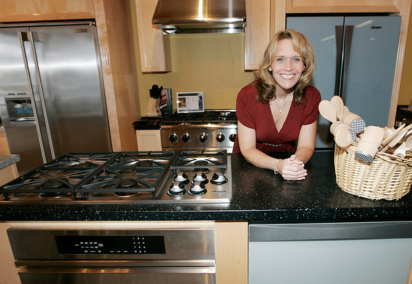 Karen Callahan of Eurostoves. Photo by Deborah Parker/July 2, 2009