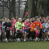 The women race from the starting line during Gabe's Run at Patton park Friday morning. photo by deborah parker/november 26, 2010