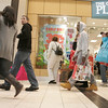 Shoppers walk through the North Shore Mall on Black Friday. Photo by deborah parker/november 26, 2010