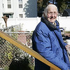 Lynn: The city of Lynn took Claire Butcher, 77, to court this week on criminal charges for feeding birds without a feeder in her backyard. <br /> Photo by Deborah Parker/Salem News Thursday, October 23, 2008