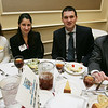 From left, Ann Marie Casey, executive director of the Marbleheahd Chamber of Commerce, along with, Luisa Garsso, Bobby Hanson of Salem Five Bank and Brian Boyle of Salem Five Bank/Boyle Insurance attend the North Shore Chamber of Commerce Business Expo held at the Crowne Plaza Boston North Shore. Photo by Deborah Parker/February ,23, 2010