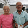 Susan and Peter Rollins of Beverly attend a bbq at the Bass Haven Yacht Club in Beverly in honor of its 100th anniversary Thursday evening. Photo by Deborah Parker/July 2, 2010