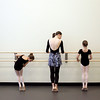 Marblehead: Boston Ballet dance teacher, Jennifer Markham teaches an excersize at the bar during dance class at the Boston Ballet School located in the new Marblehead YMCA.  Photo by Deborah Parker/Salem News Thursday, February, 12, 2009.