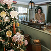 The kitchen and Cent Shop in the House of Seven Gables  was decorated by Cathy Gareri, Christine Patton, and Deborah Riva of Danvers Historical Society<br /> Photo by Deborah Parker/December 4, 2009