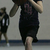 Alex Houlden, 10, of Peabody performs a lay up drill as part of a free youth basketball clinic in conjunction with the Tanner City Holiday Classic basketball tournament at Peabody High School Tuesday morning. photo by deborah parker/december 28, 2010